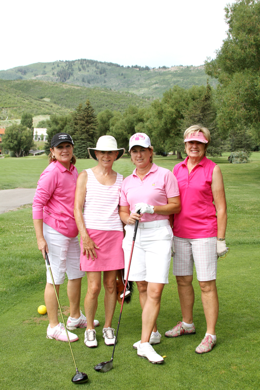 Members of the Park City Women s Golf Association pose for a picture at a recent charity fundraiser. Photo courtesy of Lydia Kluge