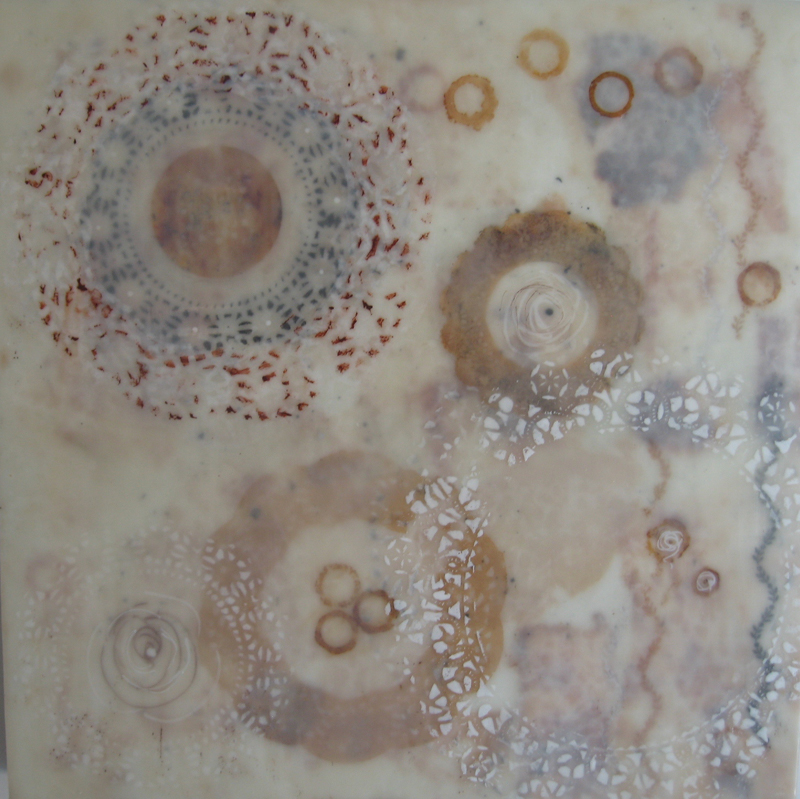 "Park City artist Sharon Sams' encaustic work, ""Coming Full Circle,"" has been accepted into the Utah Division of Arts & Museums' annual exhibition, ""Utah 2013: Mixed Media & Works on Paper."" (Photo courtesy of Sharon Sams)"