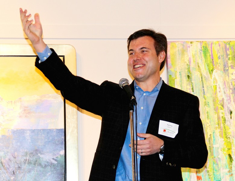 Rob Katz, the CEO of Vail Resorts, attended an October event at the Kimball Art Center to introduce the firm to a crowd of Parkites in what was his first his first major appearance in Park City. Katz is scheduled to sit for a deposition next week in the lawsuit centered in Park City Mountain Resort's lease.( Park Record file photo by Nan Chalat Noaker)