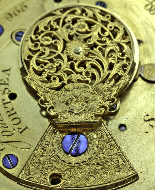 "The intricate engravings of antique pocketwatches are some of the images that are on display at the Kimball Art Center's new exhibit ""Art of the TimePiece."" (Photo by Karol Renau)"