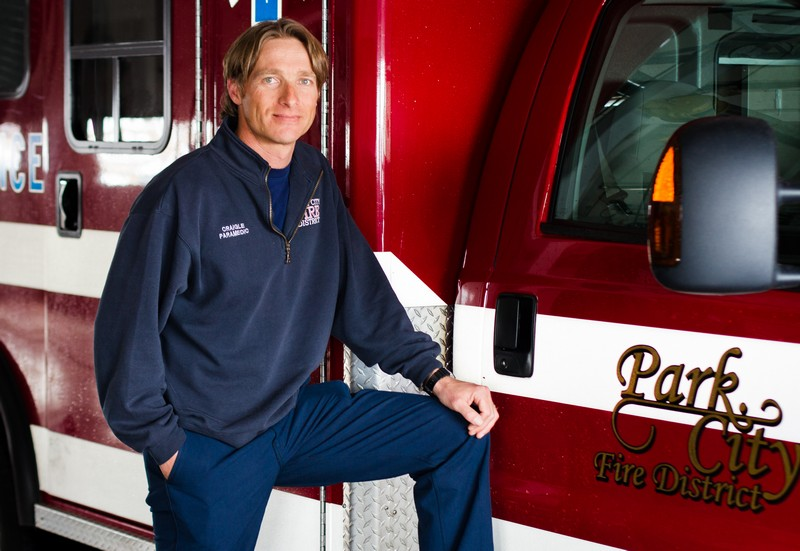 Park City firefighter Josh Craigle grew up in the Park City area and moved back to Summit County in 2004. He and his wife recently bought a home in Wanship. (Christopher Reeves/Park Record)