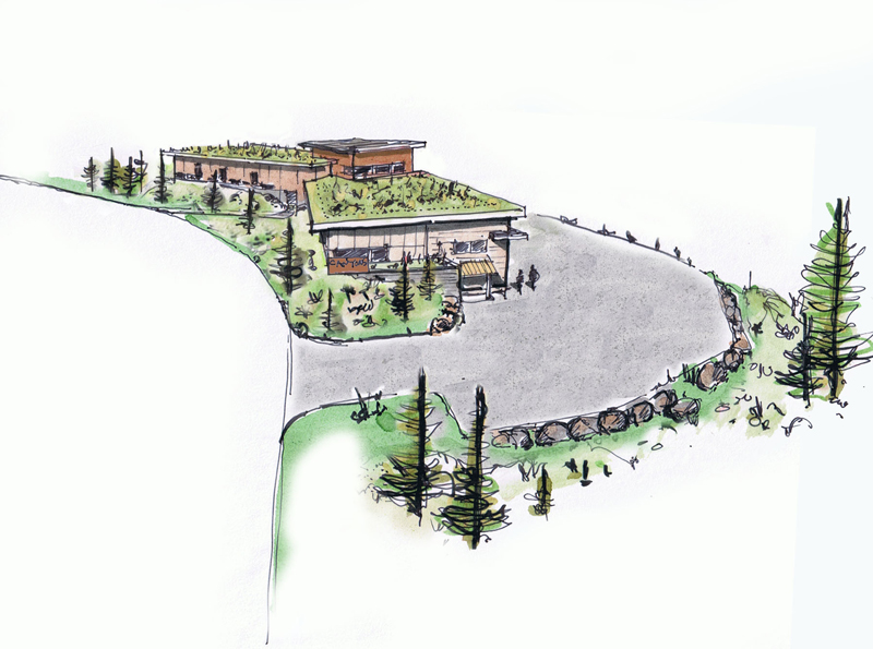 A proposed relocation for an equipment maintenance building at Canyons Resort on Canyons Resort Drive between the Grand Summit Hotel and the Hidden Creek Condos was given a negative recommendation by the Snyderville Basin Planning Commission on Tuesday. (Photo courtesy of Todd Burnette)