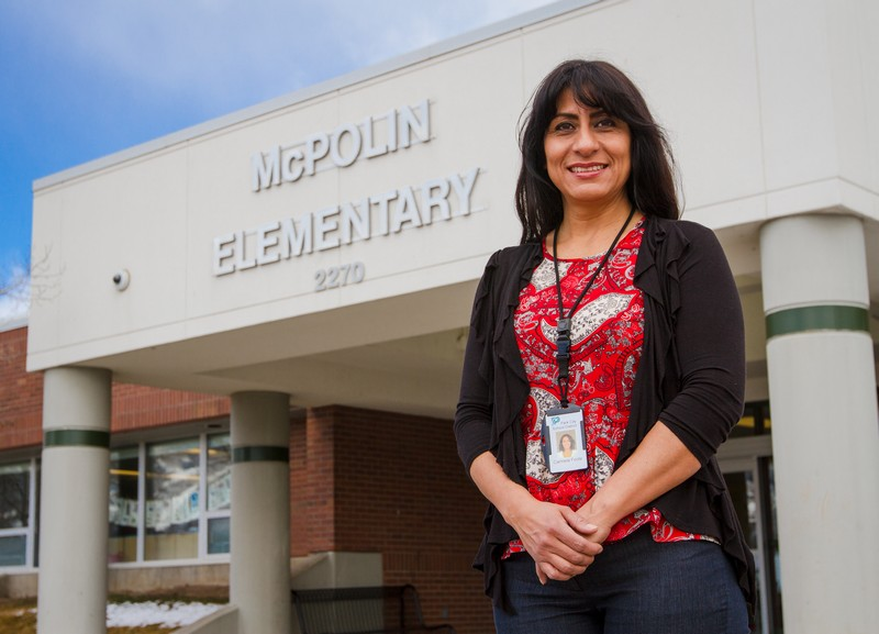 Carmela Foote is an outreach assistant at McPolin and Trailside Elementary. She is passionate about teaching and keeping family traditions, says tolerance is key. (Christopher Reeves/Park Record)
