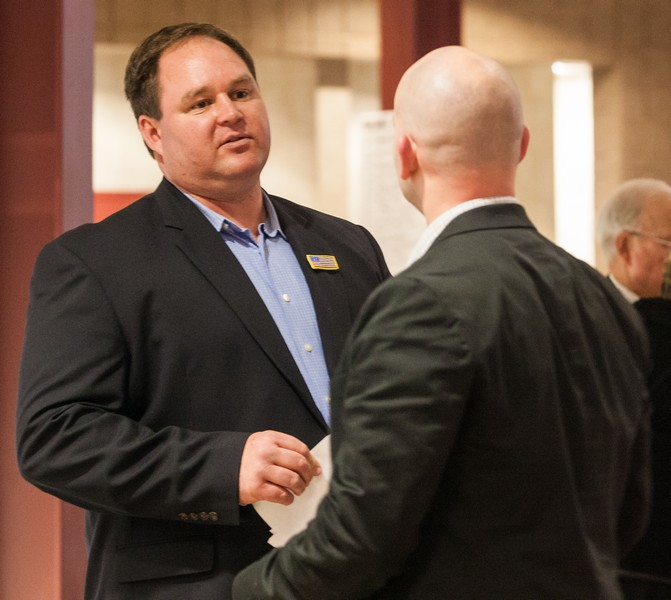 Dax Shane, left, will seek the Republican nomination for Summit County Sheriff. He will vie for his party's nomination against Kris Hendricksen. One of the two will face Summit County Sheriff's Capt. Justin Martinez, who is running on the Democratic ticket. (Christopher Reeves/Park Record)