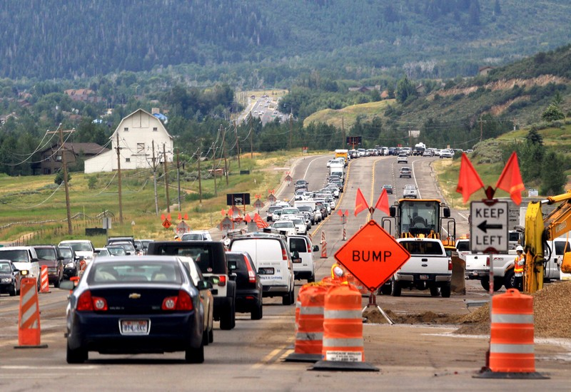 Starting June 2, the Utah Department of Transportation will begin repaving three inches of asphalt on State Road 224 from Kimball Junction to Bear Hollow Drive. Traffic will be limited to one lane in each direction during construction, which is expected to take about a month. (Park Record file photo)