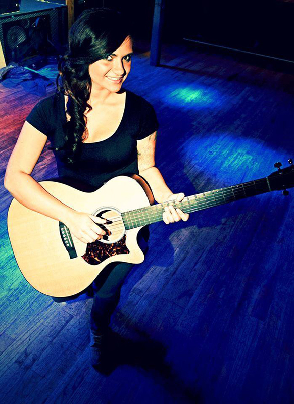 Locally-based singer and songwriter Jennie Gautney will perform at St. Luke's Episcopal Church's annual Wine and Swine benefit for Peace House. (Photo courtesy of Jennie Gautney)