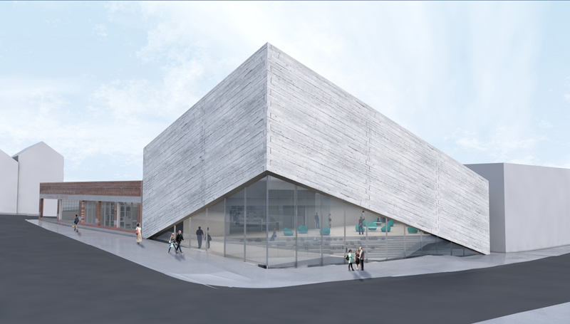 City Hall officials temporarily stopped their review of the Kimball Art Center's expansion plans nearly a month ago. The officials are awaiting additional materials from the art center. Courtesy of the Kimball Art Center