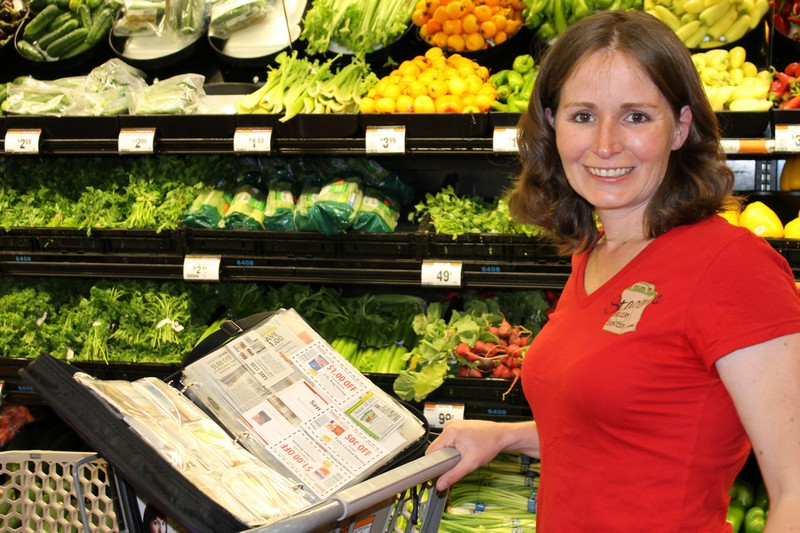 Stacey Conklin started Stacey s Grocery Services last October to help provide clients savings through $300,000 worth of coupons. Photo by Alexandria Gonzalez/Park Record.