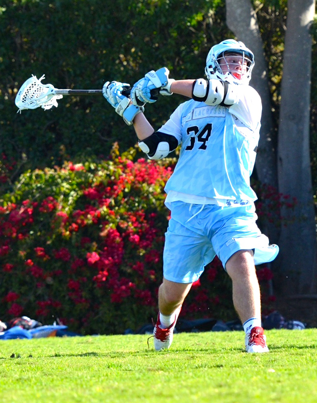 A 212 Lacrosse player launches a shot on goal during a recent tournament. Photo courtesy of 212 Lacrosse
