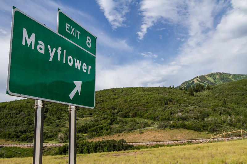 The vast Mayflower acreage is situated in Wasatch County at the Mayflower exit on U.S. 40. Developers are considering whether to make an offer on the land. (Christopher Reeves/Park Record)