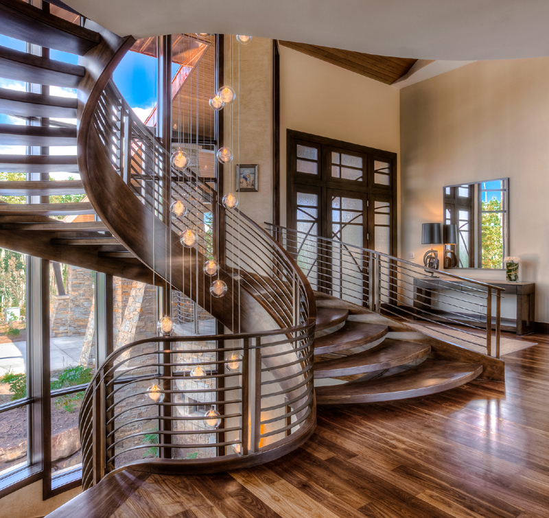 The Park City Board of Realtors annual Luxury Home Tour, which is a benefit for Peace House, allows the tourists to step into homes of exclusive neighborhoods. (Springgate Photography)