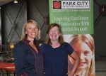 Abby McNulty, left, is the executive director of the Park City Education Foundation, which is celebrating its 30th anniversary. Lynn Cier, right, has been involved with the organization for about 15 years and says it has been instrumental in making Park Citys schools great.