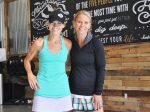 Whitney Kozlowski, left, founder of the Beau Collective stands with fitness coach Lyndsay Cunningham after a recent workout session. The collective has been growing since its founding in 2014, and Kozlowski says its special because it brings out the best in people.