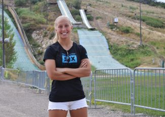 Winter Vinecki, a 17-year-old Park City athlete, will be featured in a video shown to nearly 1.3 million students this school year, encouraging them to grit it out during school fundraisers put on by a company called Boosterthon. She says she hopes her message is inspiring.