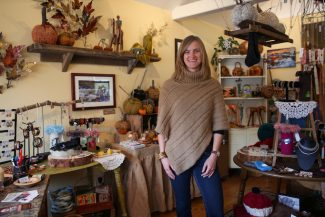 (Tanzi Propst/Park Record)Artique owner Katie Stellpflug is gearing up for the boutique's annual Holiday Party, which will celebrate its fifth anniversary this year, on Friday, Dec. 2.