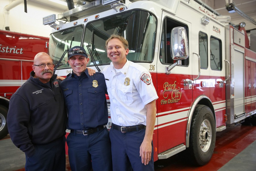 Firefighters at Park City Fire Station stay busy on Christmas ...