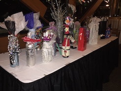 (Pamela Wood)Extravagantly wrapped wines are just part of the fun the park City Wine Club annual New Year's Wine Exchange offers. The event will be held this year on Jan. 11 at the Jeremy Ranch Clubhouse.