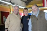 Dante and Nancy Eggan, left,the owners of the No Worries Caf, stand with Bruce Corrigan at the restaurants new location in the space above OShucks Bar and Grill in Quarry Village on Monday. Last month, after 16 years at its Parleys Summit location the popular caf was forced to move.