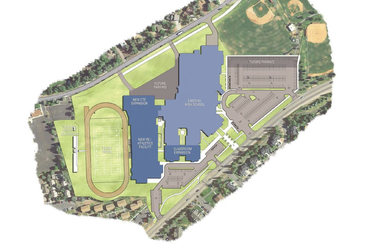 park city board of education chooses design for high