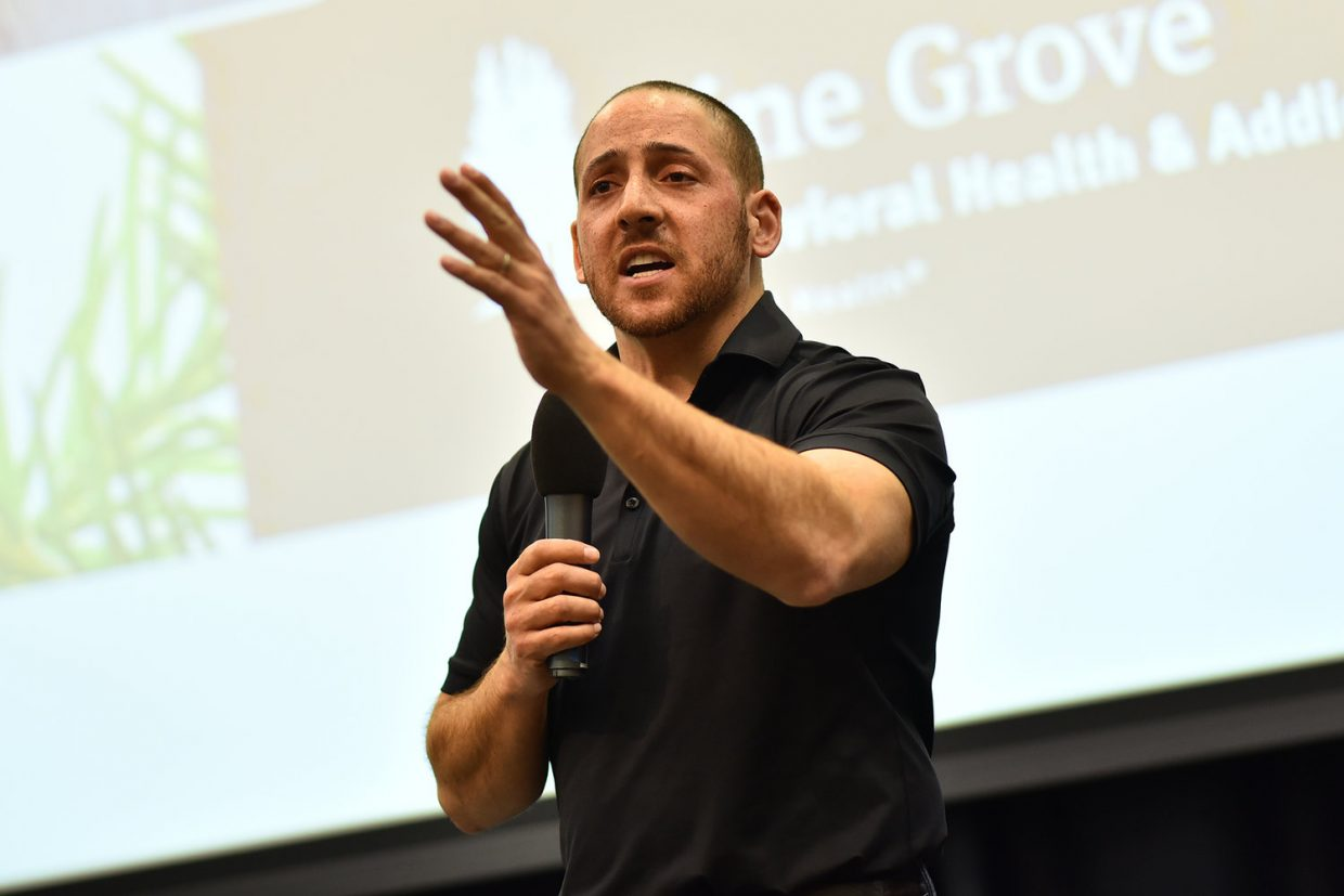 Kevin Hines Motivates People To Keep On Living