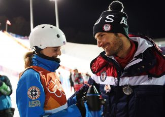 Love at the Olympics no easy trick to land for Nordic combined's Fletcher and freestyle skiing's McKinnon