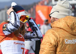 With Justin Reiter in her ear, Steamboat-trained Czech Ledecká soars to unthinkable second Olympic gold medal