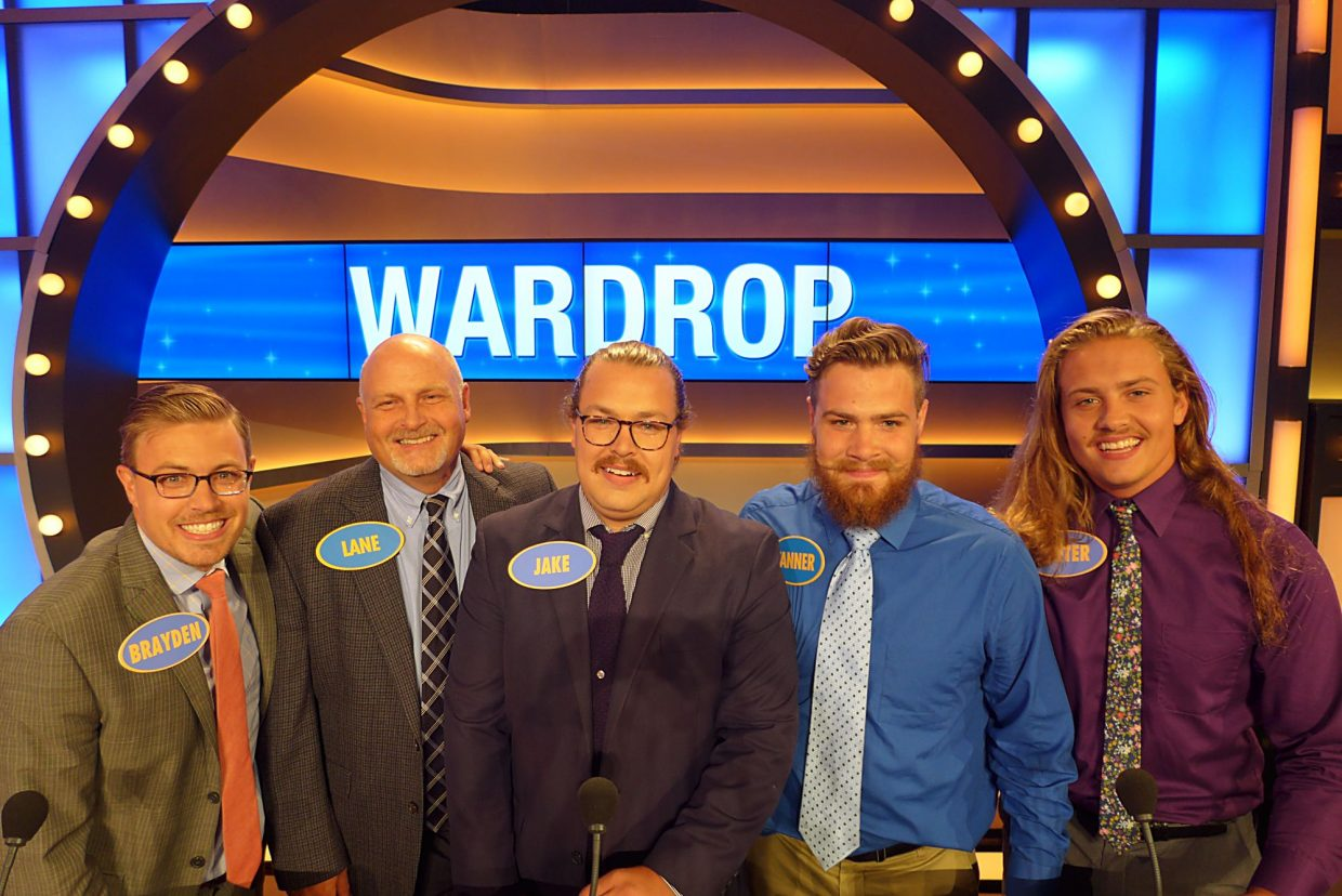 summit county based family competes on family feud parkrecord com