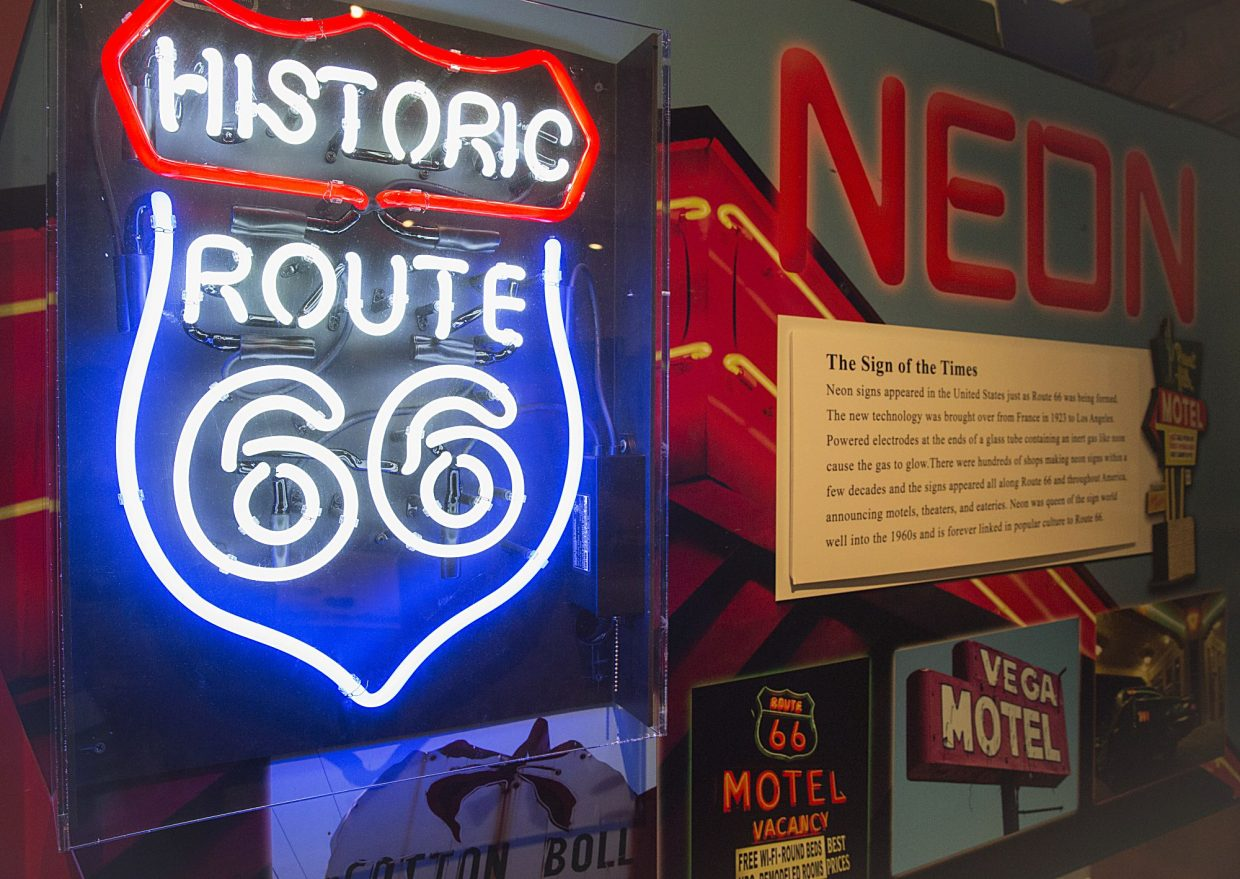 """fc5afb00b Park City Museum gets its kicks with """"America's Road: The Journey of Route  66."""""""