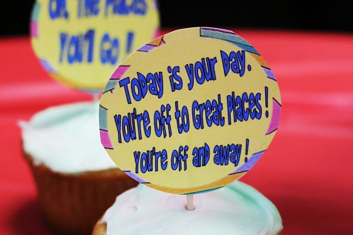 Dr. Seuss-themed treats filled Parley's Park Elementary School classrooms last Friday.