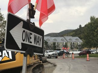 Park City restarts roadwork on key Prospector street