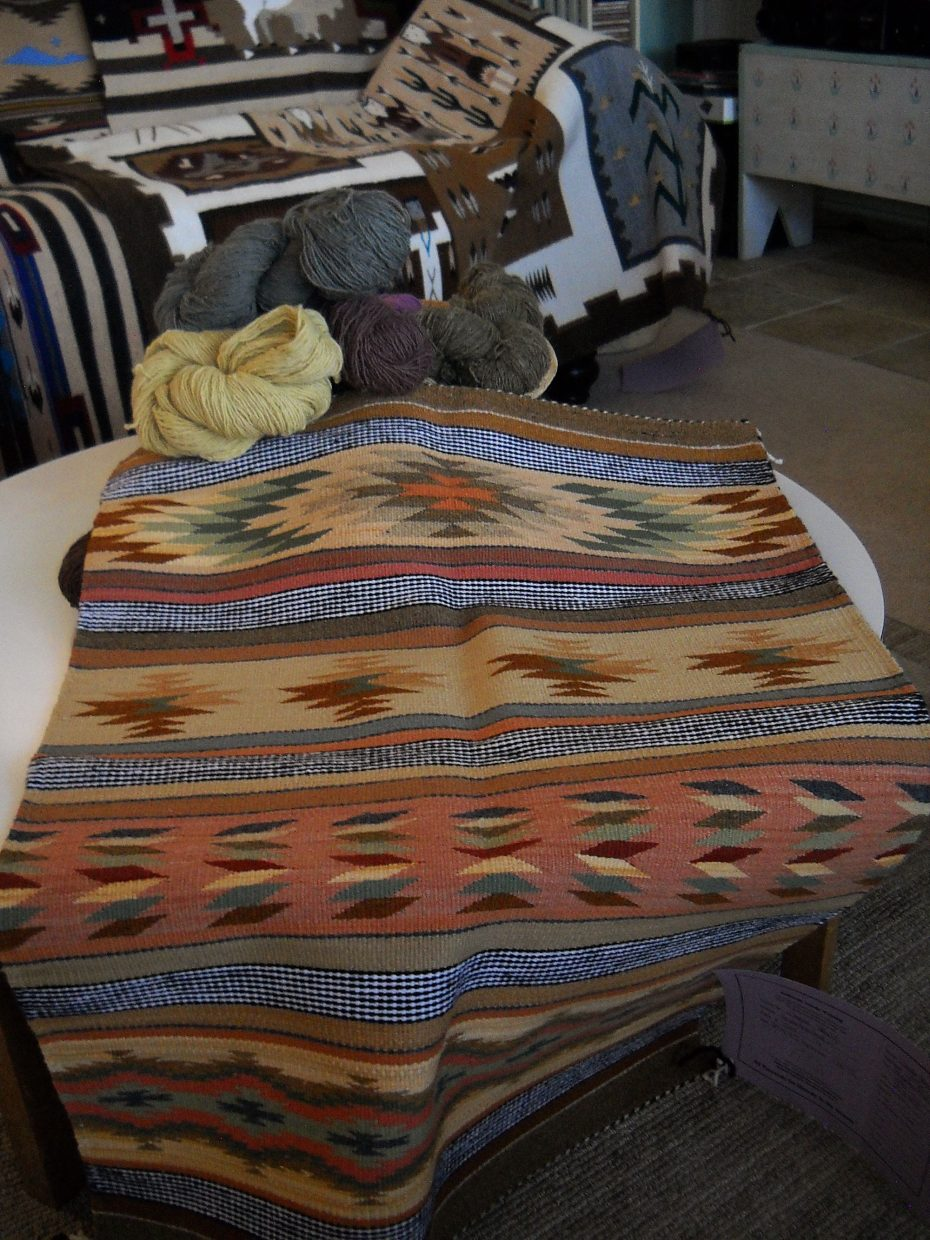 Navajo Elders Work Long Hours To Prepare Rugs For Annual Show