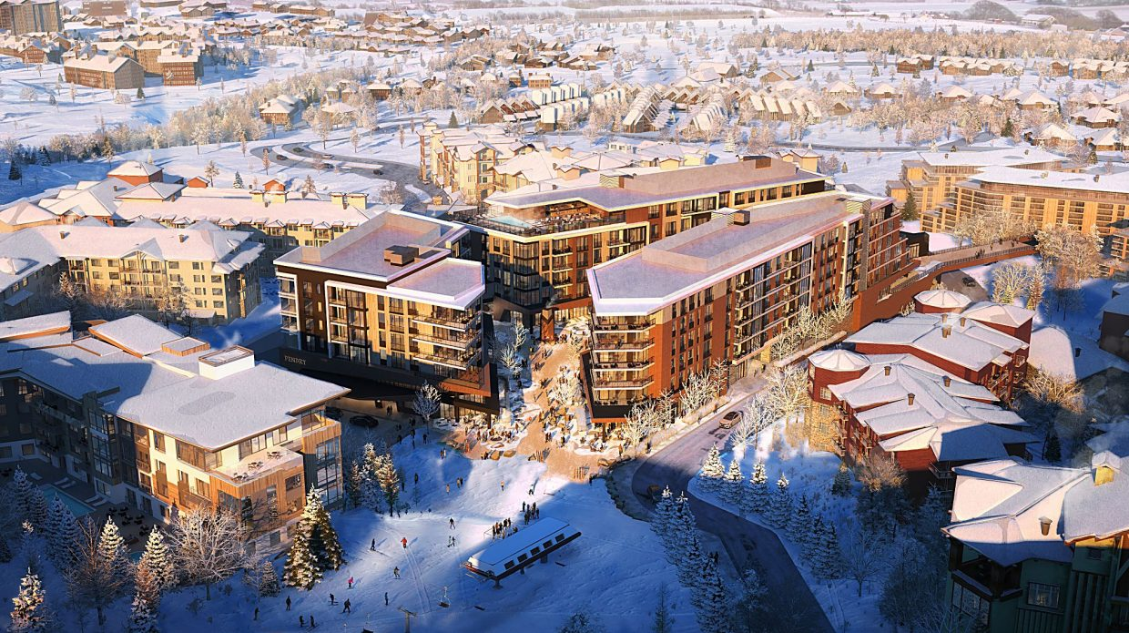 Major Canyons Village mixed-use development gets thumbs up from Planning Commission