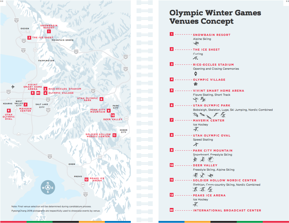 Winter Olympic Map Shows Park City Again Having Outsized Role
