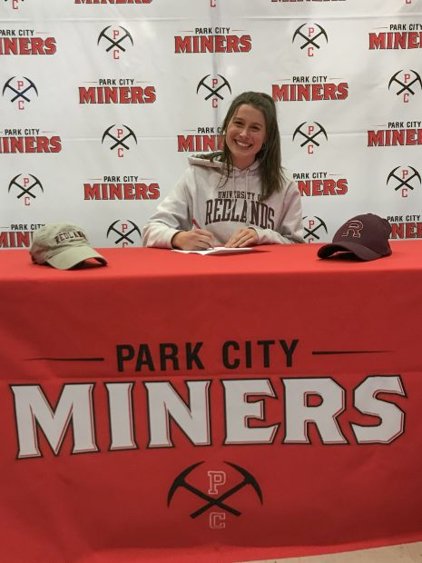 Park City's Grace Donahue and twins Livi and Gabby Rockwood sign letters of intent