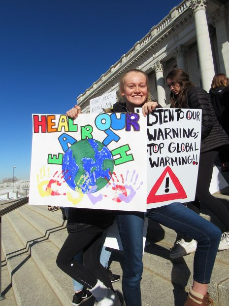 Park City students rally with Utah teens for climate change solutions