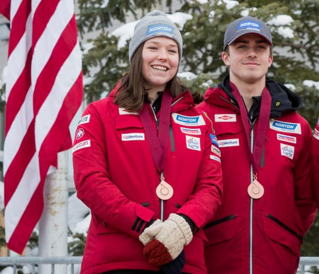 Parkite Ashley Farquharson takes fourth at luge Junior World Championships