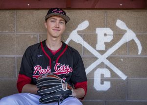 Park City baseball player Ben Agnew lives charitably, swings a mean bat