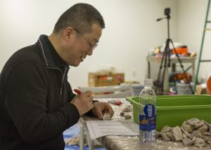 Zhi Lin's exhibit at the Kimball Art Center rides the rails with Chinese laborers