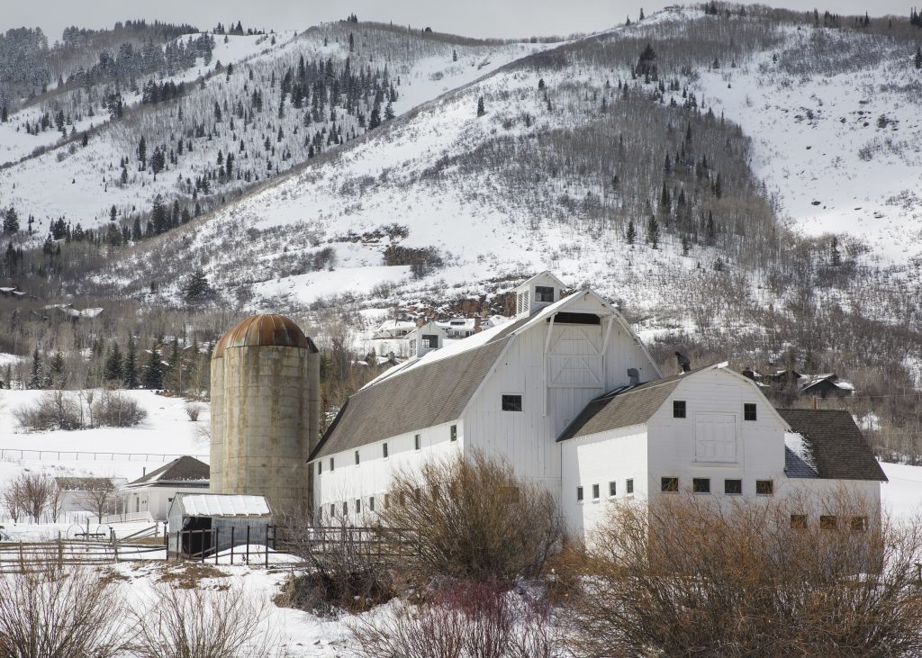 Park City prepares to let people inside the white barn ...