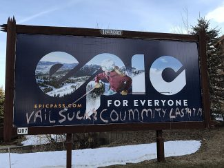 Guest editorial: Vandals of Vail Resorts billboard had right idea, wrong method of sharing it