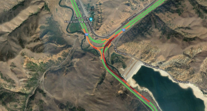 Semi rollover closes I-80 at Echo Junction