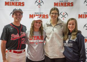 Four more Park City students take athletic skills to college