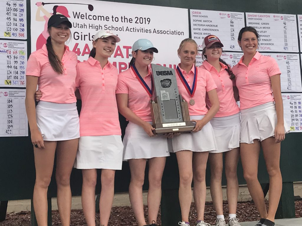 Park City Girls golf takes second at state for fifth consecutive year