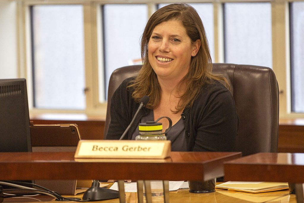 Becca Gerber, fighting for working moms, wants second Park City Council term