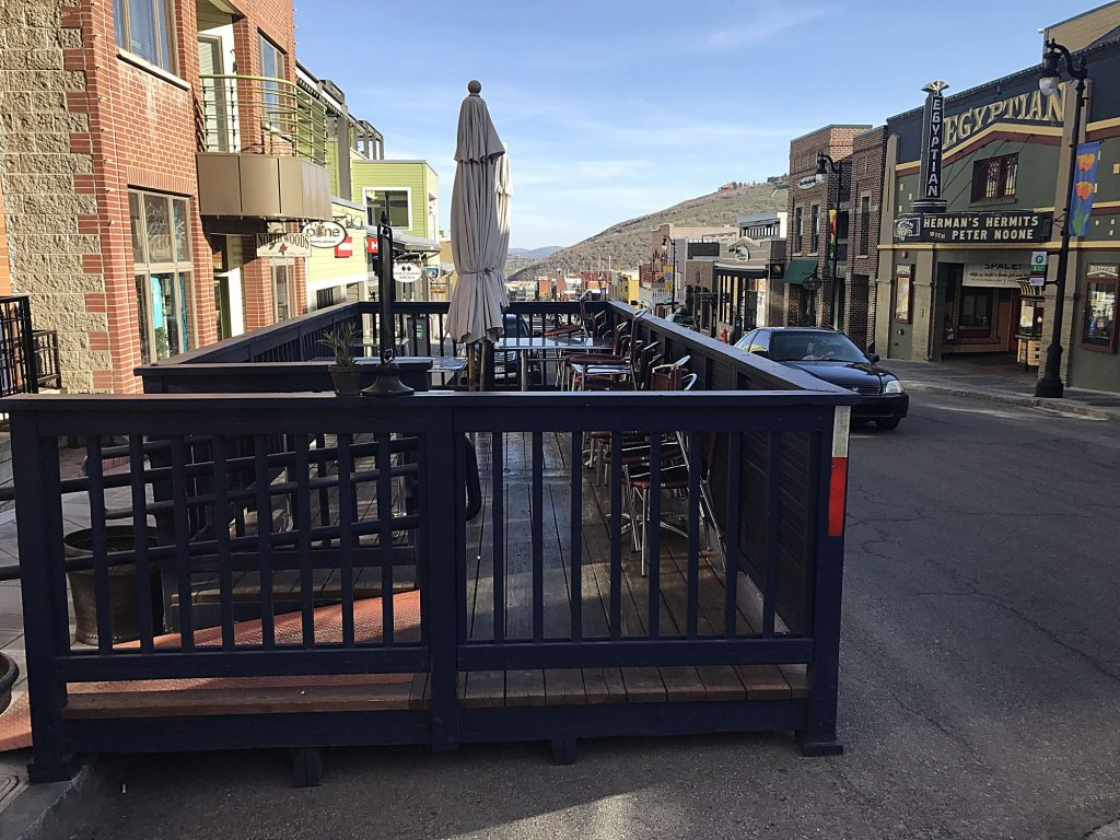 Park City Dining Decks Delectable Summer Option Return To