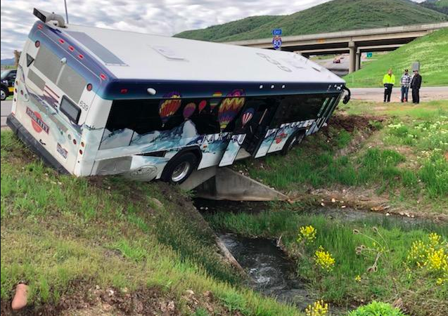 UPDATED: Driver of Park City bus involved in crash charged