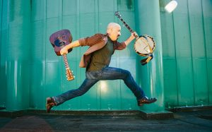 Tony Furtado lends his banjo chops to Leftover Salmon