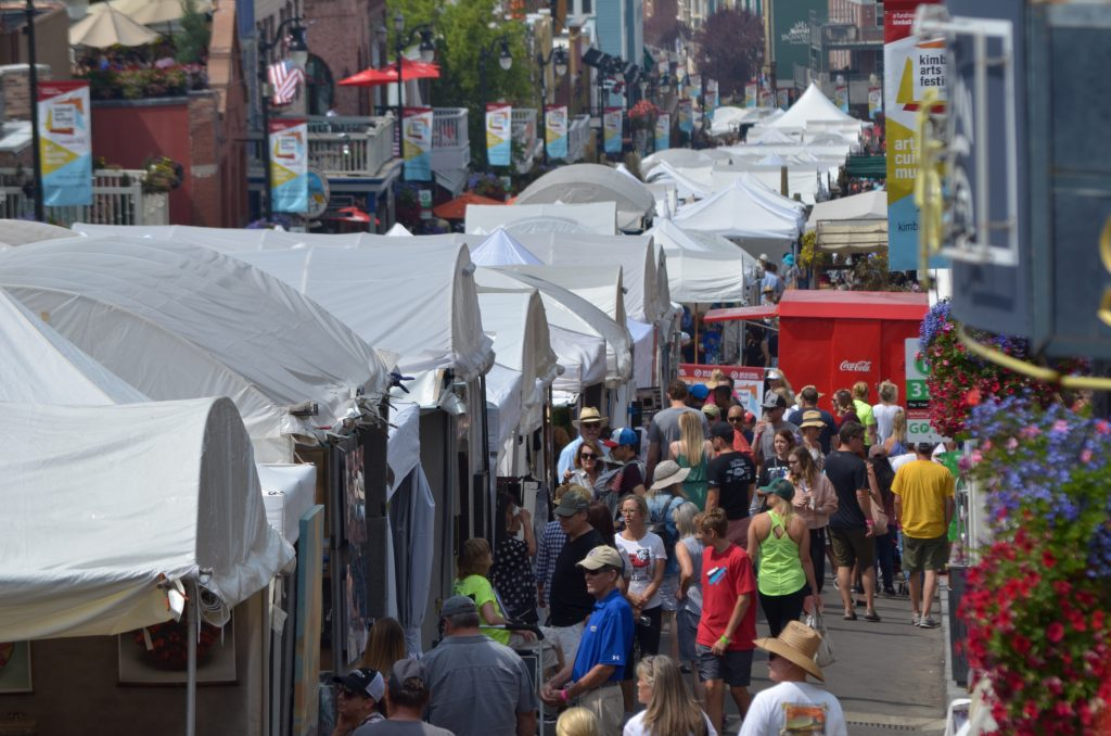 Park City arts fest: Paintings have a price, but access