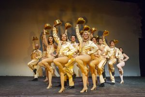 Ziegfeld Theater's 'A Chorus Line' kicks up its heels for a three-weekend run at the Egyptian Theatre