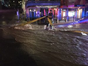 Park City suffers massive waterworks break, sending water rushing onto Main Street (w/video)